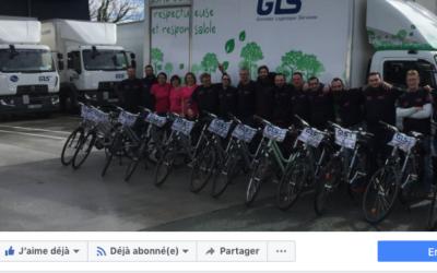 Page Facebook team GLS