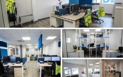 Nouveaux aménagement des bureaux du siège